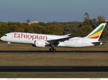 Ethiopian Airlines, Boeing 787-8 ET-ASH (TXL 31.10.2018)