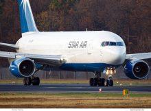 Star Air, Boeing 767-200 (BDSF) OY-SRP (TXL 15.11.2018)