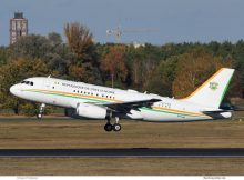 Republik Elfenbeinküste, Airbus A319(CJ) TU-VAS (TXL 31.10.2018)
