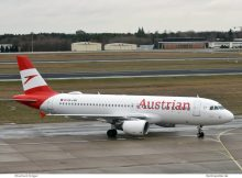 Austrian Airlines, Airbus A320-200 OE-LBK (TXL 7.12.2018)