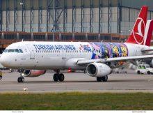 Turkish Airlines, Airbus A321-200(SL) TC-JSU, Lego the Movie 2 cs. (TXL 30.11.2018)