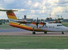 Tyrolean Airways, DeHavilland DHC-7-102 OE-LLS (THF 08/1993)