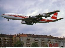 TWA Trans World Airlines, Boeing 707-331B N8730 (THF 15.7.1978)