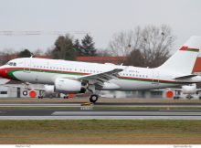 Royal Flight of Oman, Airbus A319(CJ) A4O-AJ (TXL 10.3.2019)