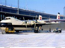 British European Airways, Armstrong Whitworth AW650 Argosy 222 G-ASXN (THF 4.1.1970)