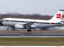 British Airways, Airbus A319-100 G-EUPJ, BEA Retro cs. (TXL 14.3.2019)