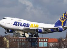Atlas Air, Boeing 747-400 N465MC (TXL 19.3.2019)