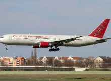 Omni Air International, Boeing 767-300ER N477AX (TXL 30.3.2019)