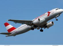 Austrian Airlines, Airbus A320-200 OE-LBO, 1980s Retro cs. (TXL 19.5.2019)