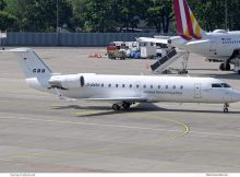 Global Reach Aviation, Bombardier CRJ200 D-ANSK (TXL 17.5.2019)