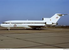 Royal New Zealand Air Force, Boeing 727-22C NZ7272 (SXF 31.3.1990)