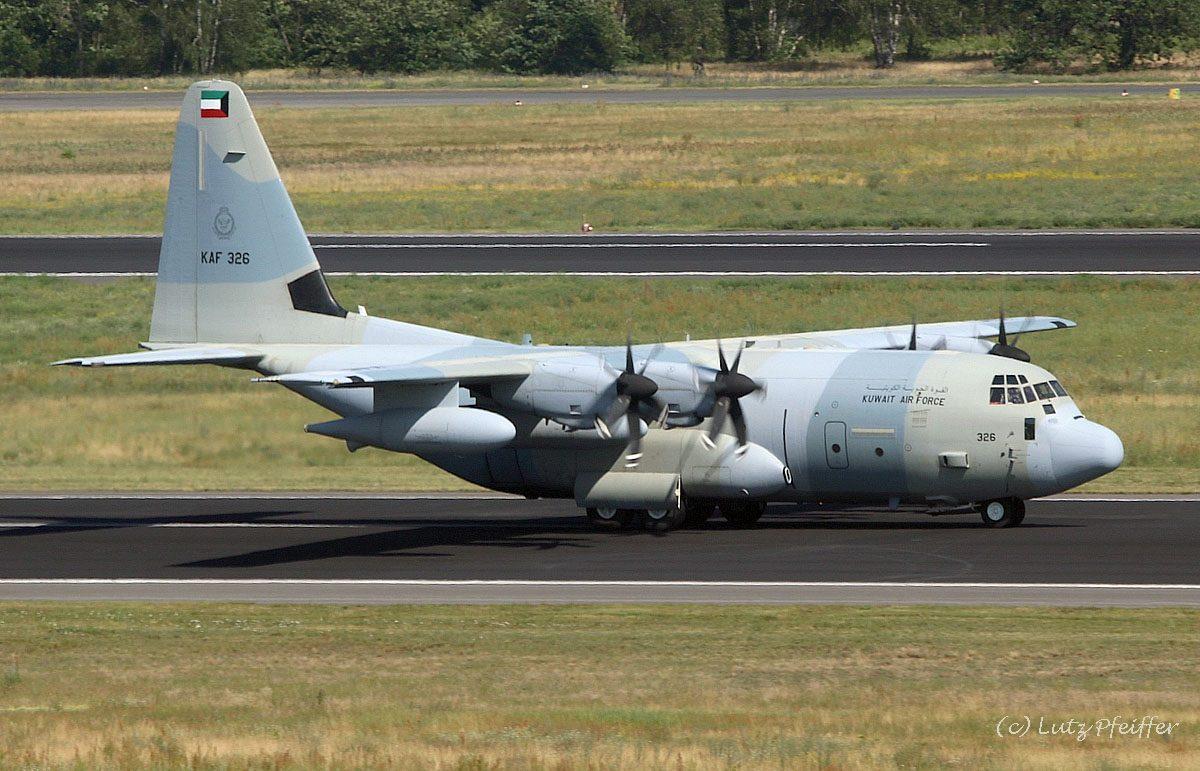Kuwait Air Force, Lockheed KC-130J Hercules KAF 326 (TXL 25.6.2019)