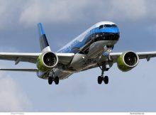 Air Baltic, Airbus A220-300 YL-CSJ, Estland-Bemalung (TXL 10.7.2019)