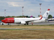 Norwegian Air International Boeing 737-800(WL) EI-FHT, Amalie Skram im Tail (SXF 8.9.2019)