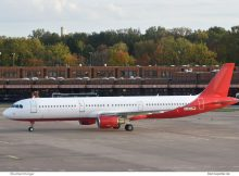 Eurowings, Airbus A321-200 D-AEUJ (TXL 25.10.2019)