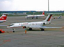 Balkan Bulgarian Airlines, Tupolev 134A LZ-TUS (SXF 16.4.1990)