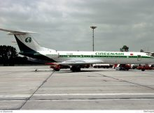 Greenair, Tupolev Tu-134A-3 TC-GRE (SXF 12.4.1992)