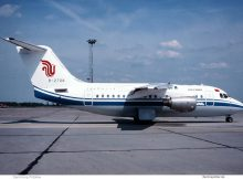 Air China, BAe 146-100 B-2708 (SXF 1995)