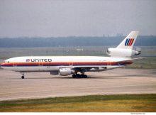 United Airlines, McDonnell-Douglas DC-10-30 N1855U (TXL)