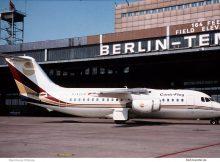 Conti-Flug, British Aerospace BAe 146-200 D-ACFA (THF 1992/93)