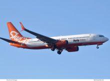 SkyUp Airlines, Boeing 737-800 (WL) UR-SQC (TXL 21.3.2020)