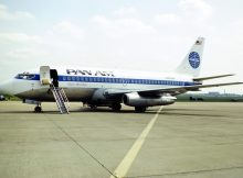 Pan Am, Boeing 737-200 N382PA (THF 13.5.1984)