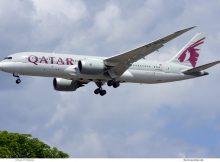 Qatar Airways, Boeing 787-8 Dreamliner A7-BCG (TXL 3.7.2020)