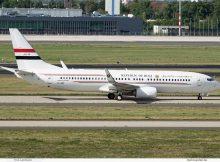 Iraq Gvmt, Boeing 737-800(WL) YI-ASF (SXF 6.9.2020)