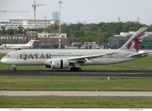 Qatar Airways, Boeing 787-8 Dreamliner A7-BCD (SXF 12.10.2020)