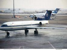 MAT Macedonian Airlines, Yak-42 RA-42378 (SXF 1996)