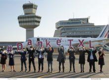 Letzter Abflug ab Tegel am 8.11.2020 mit Air France nach Paris