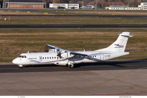 Lübeck Air, ATR72-500 SE-MDB (TXL 7.11.2020)