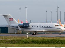Royal Danish Air Force, Bombardier CL-604 Challenger C-215 (BER 18.12.2020)