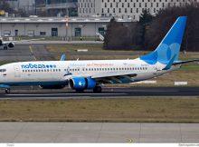 Pobeda, Boeing 737-800(WL) VQ-BTS (BER 27.12.2020)