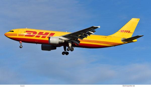 EAT Leipzig opf DHL, Airbus A300-600(F) D-AEAE (BER 21.1.2021)