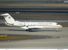 Republik Angola, Bombardier BD-700-1A10 Global 6000 D2-ANH (BER 26.1.2021)