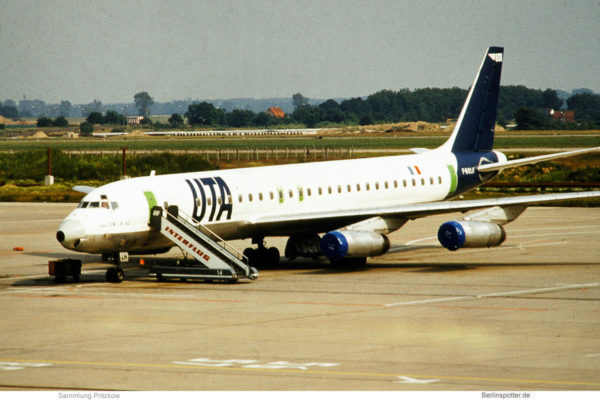 UTA Douglas DC-8-62 F-BOLH (SXF 26.6.1981)