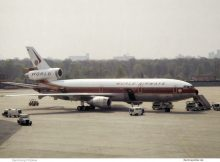 World Airways, McDonnell-Douglas DC-10-30CF N106WA (TXL ca. 1980)