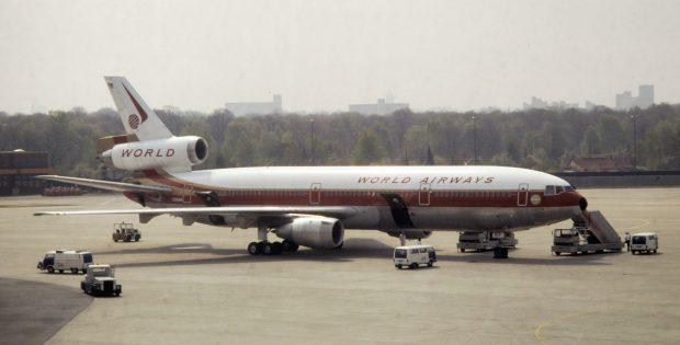 World Airways, McDonnell-Douglas DC-10-30CF N106WA (TXL ca. 1980)