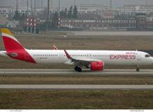 Iberia Express, Airbus A321neo EC-NIF (BER 4.3.2021)