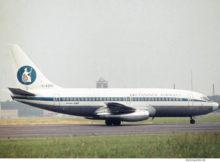Britannia Airways, Boeing 737-200 G-AVRO (GWW ca. 1971)