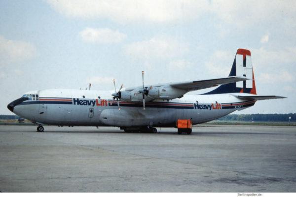 HeavyLift, Short S.C-5 'Belfast' G-HLFT (TXL ca. 1985)