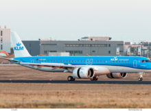 KLM cityhopper, Embraer 195E-2 PH-NXB (BER 2.3.2021)