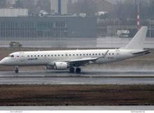 Pegas Fly, Embraer 190AR VP-BZC (BER 11.3.2021)