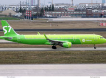 S7 Airlines, Airbus A321-200(SL) VQ-BFJ (BER 23.3.2021)