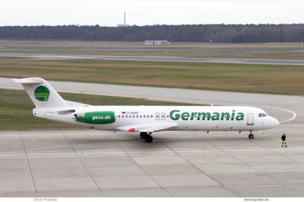 Germania, Fokker 100 D-AGPO (TXL 10.4.2005)