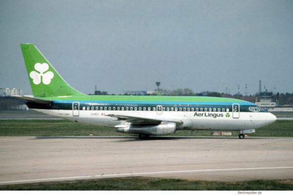 Aer Lingus, Boeing 737-200 EI-BEE (TXL 26.4.1992)