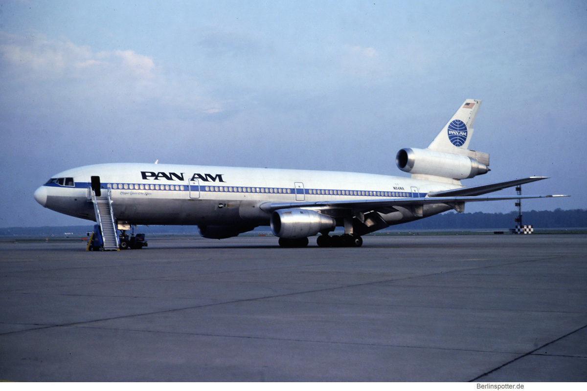 Pan American World Airways, McDonnell-Douglas DC-10-30 N84NA (TXL)