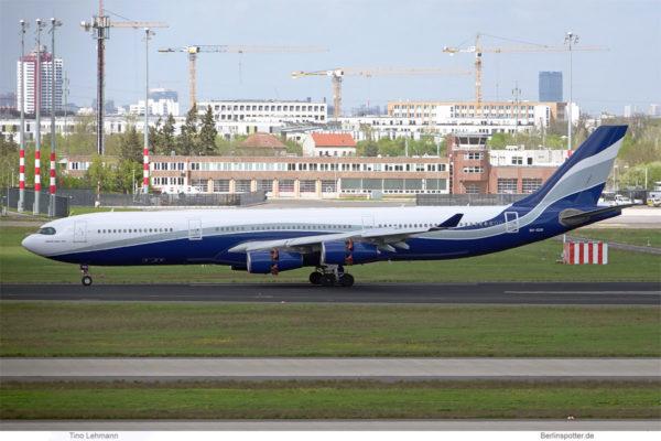 HiFly Malta, Airbus A340-300 9H-SUN (BER 5.5.2021)