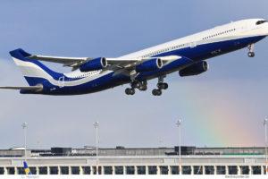 HiFly Malta, Airbus A340-300 9H-SUN (BER 7.5.2021)
